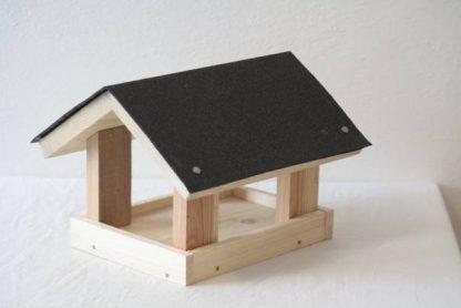 Stavebnica Krmitko klasické: pridanie lepenkového papieru
